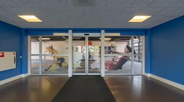 Binnenkomst Indoorcentrum