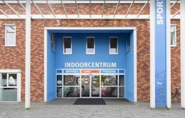Hoofd ingang Indoorcentrum
